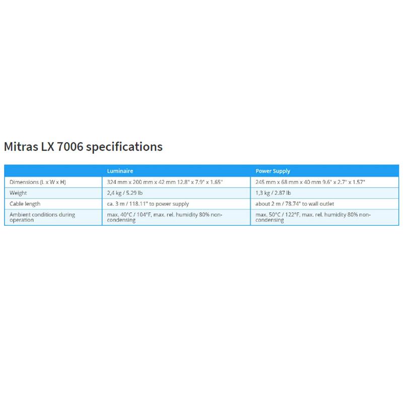 Mitras LX 7006, Silver/ White - Freshwater