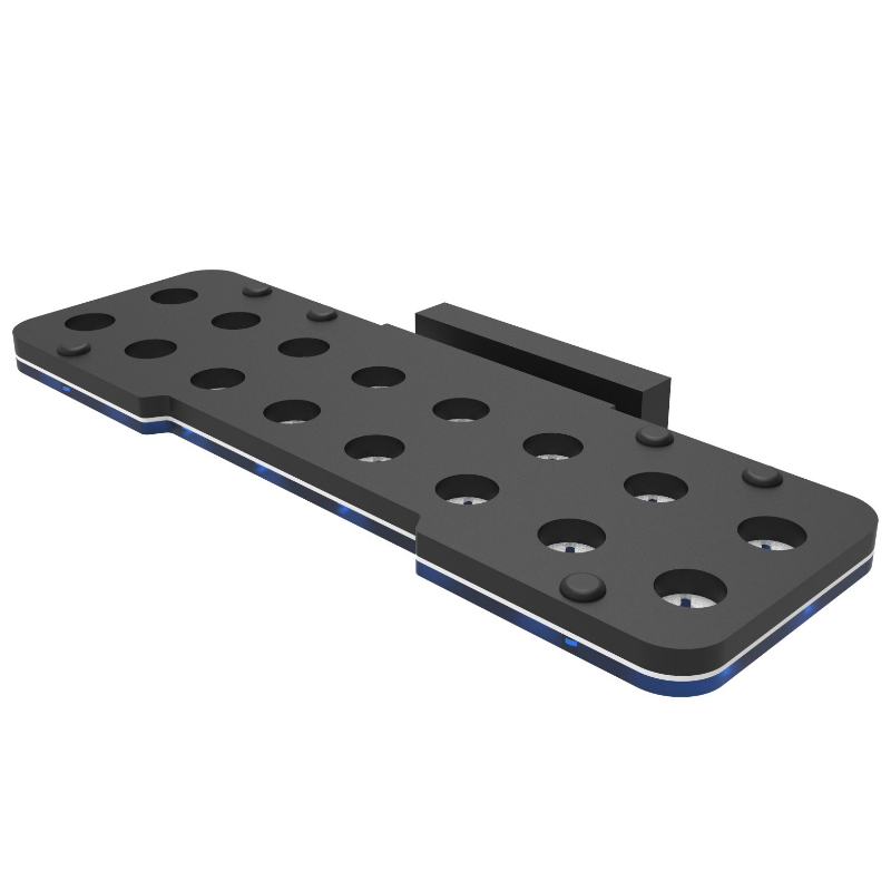 Fiji Cube 16 Holes Magnetic Coral Frag Rack with Plug Locking System