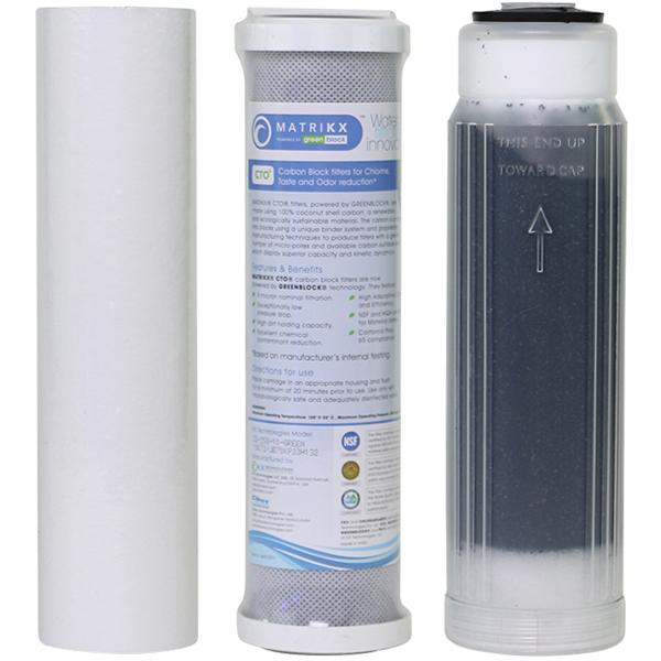 3 stage RO/DI Filter Set