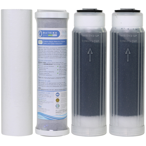 4 Stage RO/DI Filter Set