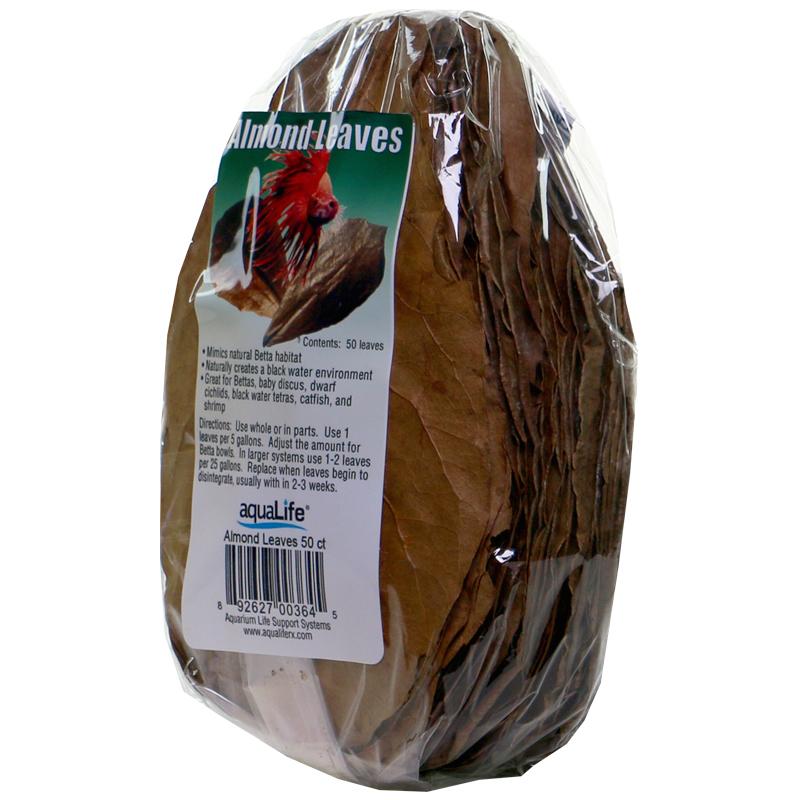 AquaLife Almond Leaves, 50 ct.