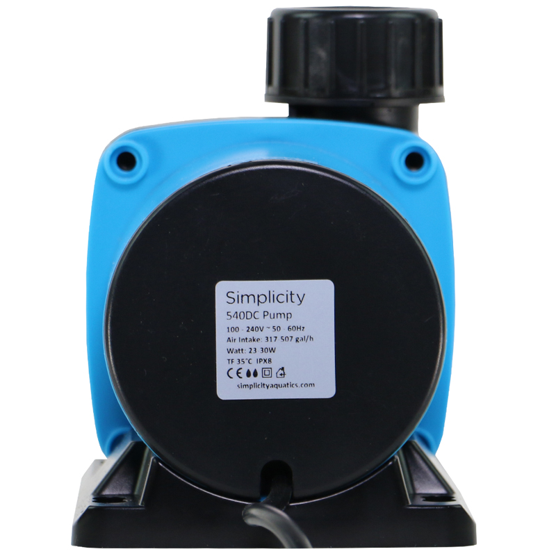 Simplicity 540DC Skimmer Pump