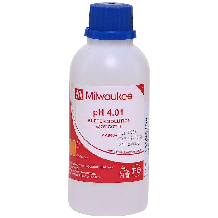 pH 4.01 Buffer Solution 220 ml, MA-9004