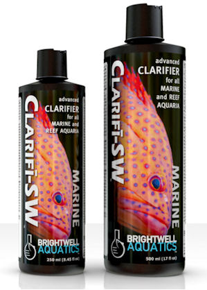 Brightwell Aquatics Clarifi-SW, Advanced Clarifier for All Marine Fish and Reef Aquaria by Brightwell Aquatics]