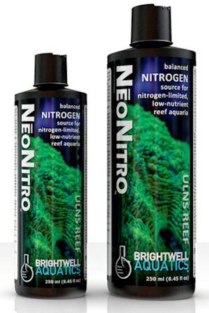 Brightwell Aquatics NeoNitro, Balanced Nitrogen Source for Nitrogen-Limited, Low-Nutrient Reef Aquaria