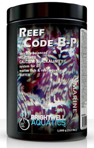 Brightwell Aquatics ReefCode B-P, Ionically Balanced Powered Calcium & Alkalinity, 20 kg.. / 44 lb. by Brightwell Aquatics]