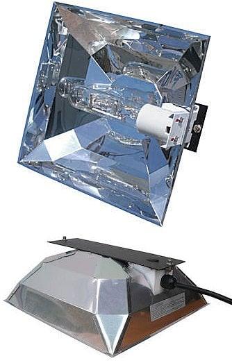 "Hamilton Technology Cabo Sun MINI Mogul Base Single Ended Metal Halide Reflector, 12.75""x12.75""x5"""