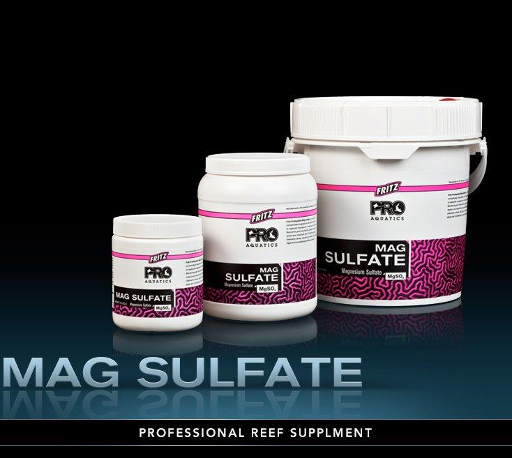 Fritz PRO Bulk  Magnesium Sulfate Professional Aquarium Supplement