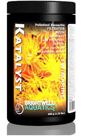 Brightwell Aquatics Katalyst - Bioreactive Filtration Media, 600 g / 1.32 lbs. (~946 ml) by Brightwell Aquatics]