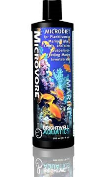 Brightwell Aquatics Microvore - Microdiet for Plamktivorous Fishes & Corals, 500 ml. / 17 oz. by Brightwell Aquatics]