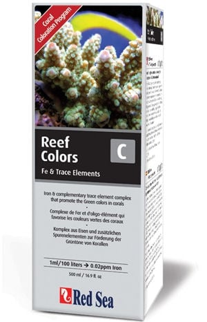 Red Sea Reef Colors C (Iron/Trace) 500 ML