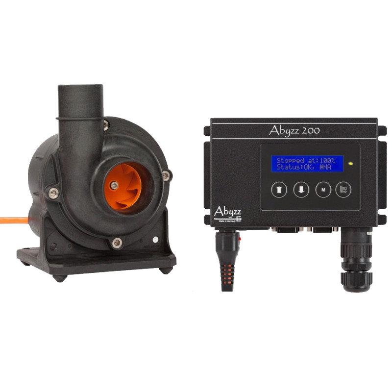 Abyzz A200 - 3,750GPH Controllable DC Pump by Abyzz]