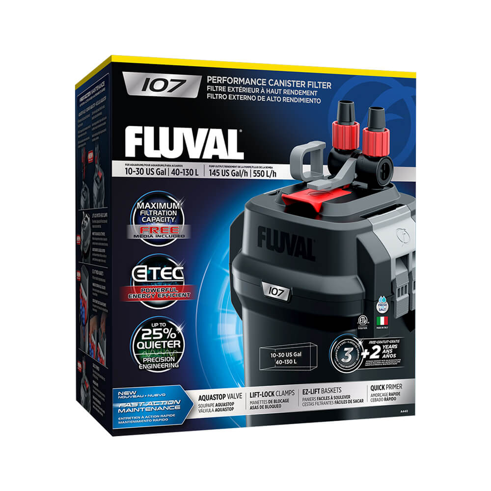 Fluval 107 Performance Canister Filter by Hagen]
