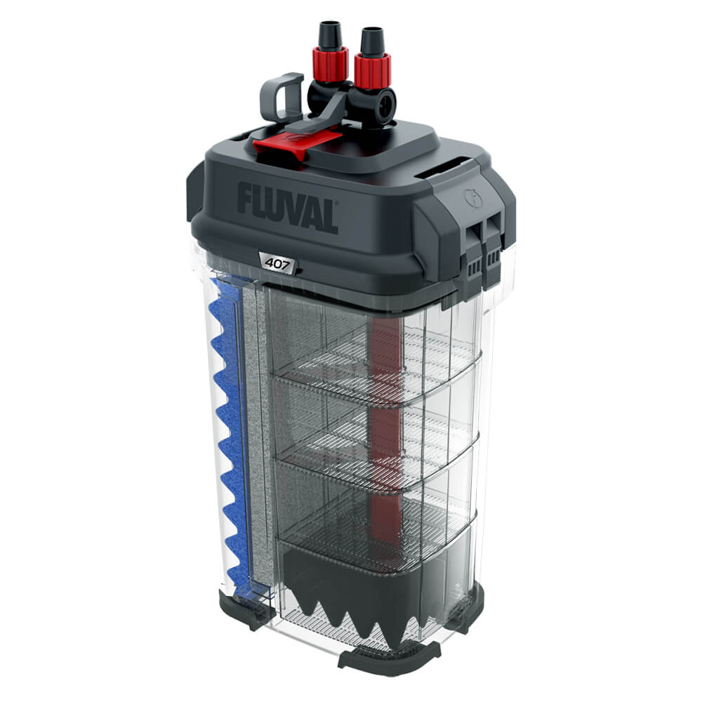 Fluval 407 Performance Canister Filter by Hagen]