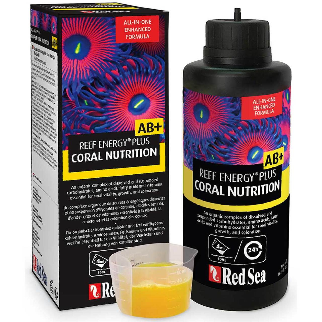 Red Sea Reef Energy AB+ Plus Coral Nutrition, 500 ml by Red Sea]