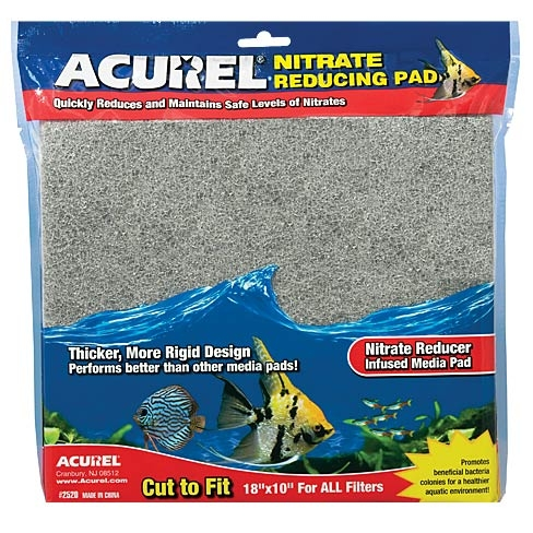 """Acurel Nitrate Remover Infused Media Pad 10x18"""""""
