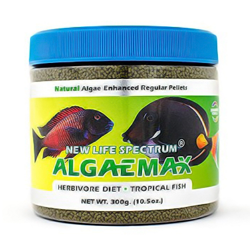 New Life Spectrum Naturox Series - Algaemax Regular Sinking Pellet (1mm-1.5mm) 300g by New Life Spectrum]