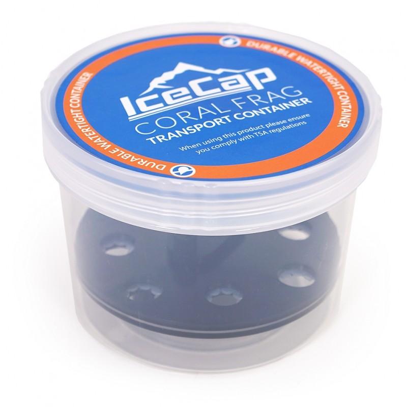 IceCap Coral Frag Transport Container, 8 Plugs