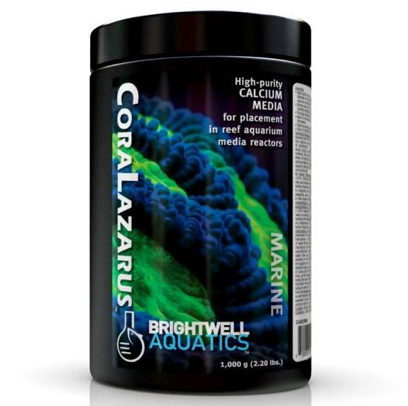 Brightwell Aquatics CoraLazarus High-purity Calcium Media for placement in Reactors