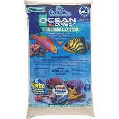 CaribSea Ocean Direct - Oolite Live Sand, 20 lb. by CaribSea]