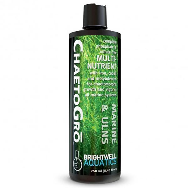 Brightwell Aquatics Chaeto Gro fertilizer for Chaetomorpha algae in Marine Systems, 250 ml 8.5 fl. oz. by Brightwell Aquatics]