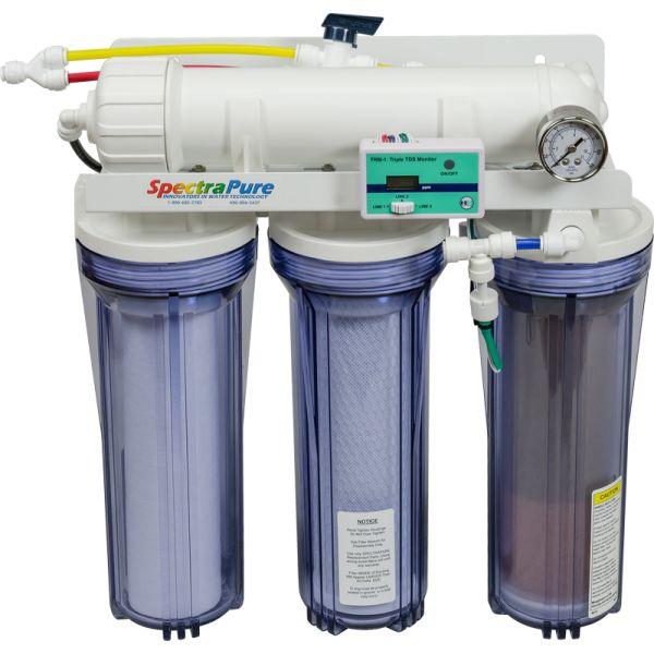 SpectraPure Cspdi 2:1 Manual Flush 90 gpd ro/di System