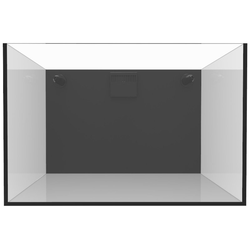 Fiji Cube 22.4 Gallon Rimless Nano Tank w/External Overflow