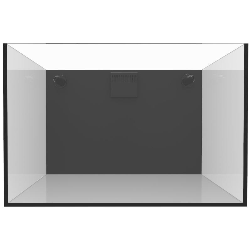 Fiji Cube 32 Gallon Rimless Nano Tank w/External Overflow