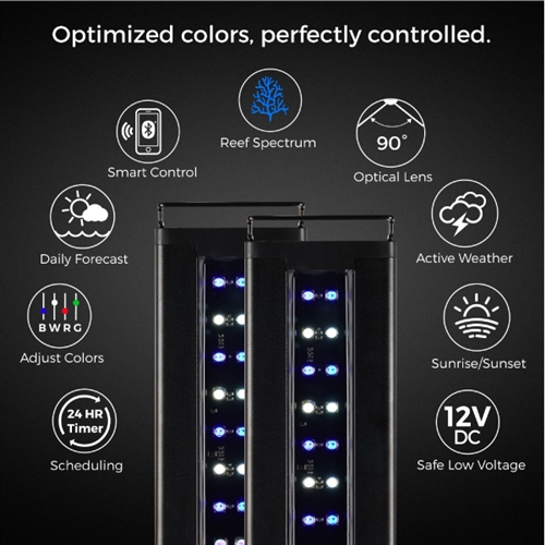 Current USA Orbit Marine IC LED System with Bluetooth Controller 72