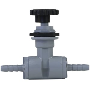 """Precision Needle Valve with 1/4"""" Barb Fittings"""