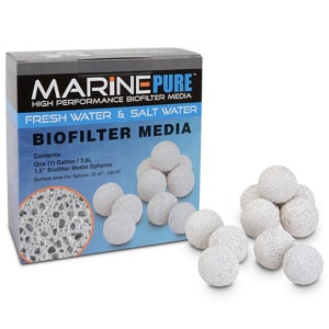 MarinePure High Performance Biofilter Media Spheres