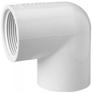 Sch 40 PVC 90 Elbows - Soc x Fipt