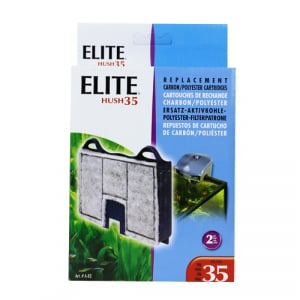 Elite Hush 35 Carbon Cartridge (2/Pack) by Hagen