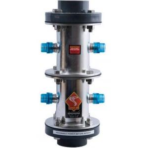 "Aqua Ultraviolet VIPER 800W UV Sterilizer, Stainless Steel Housing, 6"" Outlets, 220V"