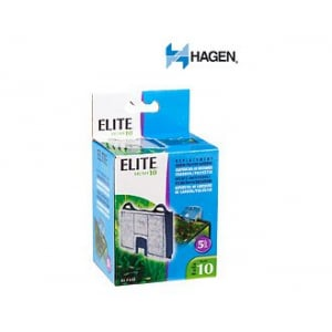 Elite Hush 10 Carbon Cartridge (2/Pack) by Hagen