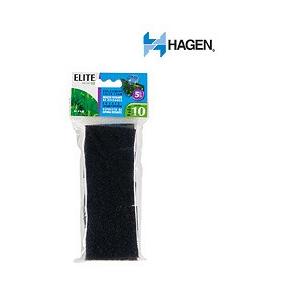 Elite Hush 10 Foam Cartridge (5/Pack) by Hagen