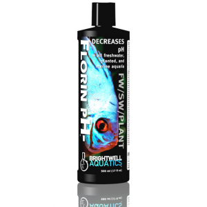 Brightwell Aquatics Florin pH- - Decreases pH in all Freshwater, Planted, and Marine Aquaria