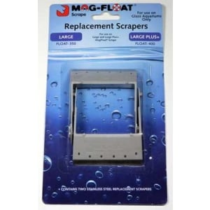 Mag Float Replacement Scrapers for Mag Float 350/400 2 Pack