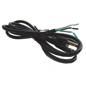 6' Power Cord - Grounded