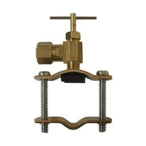 """Self-Piercing Saddle Valve for Up To 1"""" Pipe"""