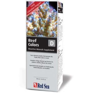 Red Sea Reef Colors D (Trace) 500 ML