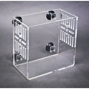 Large CITR2 In-Tank Refugium with Slots, Clear Back, Deluxe with Pump