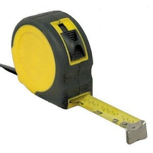 "1"" x 25' Tape Measure"