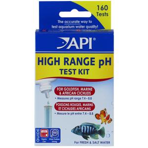 API High Range PH Test Kit for Saltwater