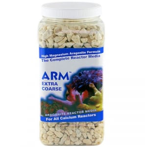 Caribsea ARM EXTRA COARSE Calcium Reactor Media 8 lbs.