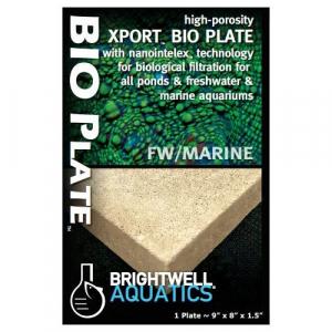 """Brightwell Aquatics Xport BIO Plate  - Nominal 9.00"""" x 8.00"""" x 1.50"""""""