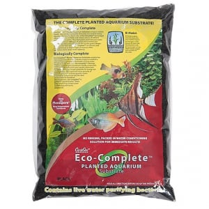 Caribsea Eco-Complete Planted Aquarium, Black 20 lbs.
