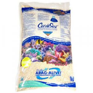 CaribSea Arag-Alive Special Grade Reef Sand Live Sand, 20 lb.