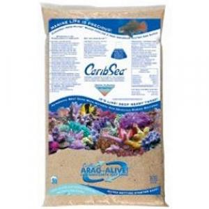 CaribSea Arag-Alive Bahamas Oolite Live Sand, 20 lb.