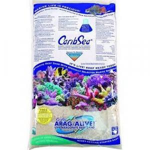 CaribSea Arag-Alive Bimini Pink Live Sand, 20 lb.